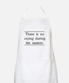 No crying during tax season Apron