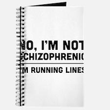 No i'm not schizophrenic Journal