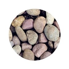 """Colorful Rocks 3.5"""" Button (100 pack)"""