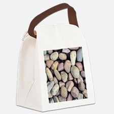 Colorful Rocks Canvas Lunch Bag