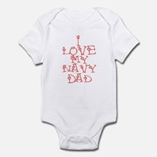 My Navy Dad Infant Bodysuit