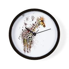 Cute Fragment Wall Clock