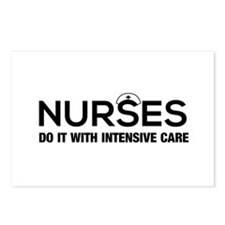 Nurses do it intensive care Postcards (Package of