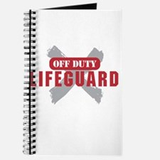 Off duty lifeguard Journal