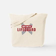 Off duty lifeguard Tote Bag