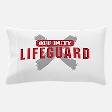 Off duty lifeguard Pillow Case