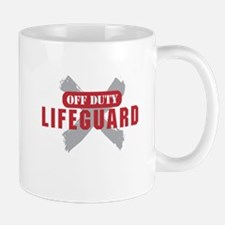Off duty lifeguard Mugs