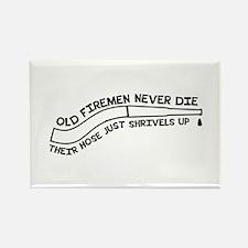Old firemen never die Magnets