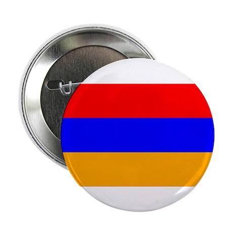 """armenia flag 2.25"""" Button (100 pack)"""