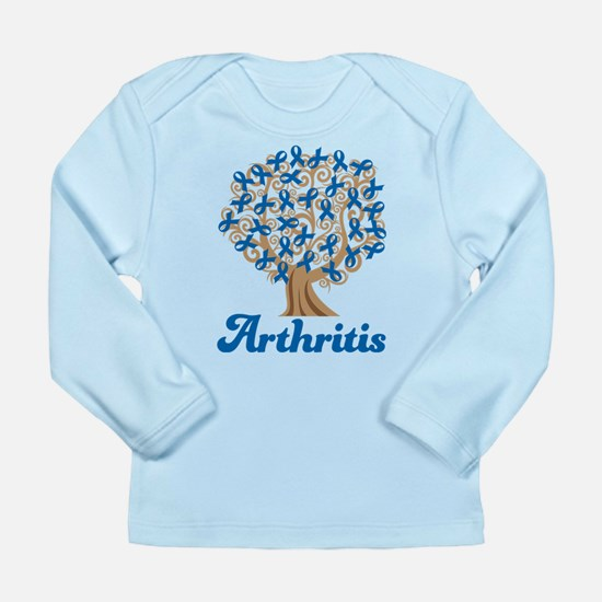 Arthritis Blue Ribbon T Long Sleeve Infant T-Shirt