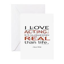 t-shirt-white-wilde1 Greeting Cards
