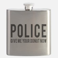 Police give me your donut now Flask