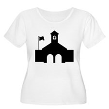 Police station Plus Size T-Shirt
