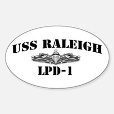 USS RALEIGH Decal