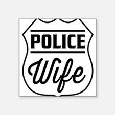 Police wife Sticker