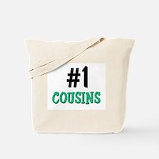 Number 1 COUSINS Tote Bag
