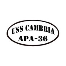 USS CAMBRIA Patches