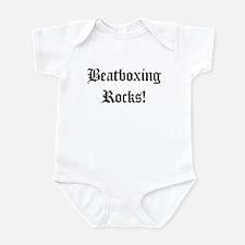 Beatboxing Rocks!  Infant Bodysuit