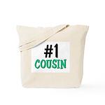 Number 1 COUSIN Tote Bag