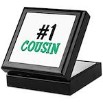 Number 1 COUSIN Keepsake Box