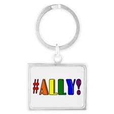 Ally Landscape Keychain