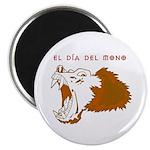 "Monkey Day El Mono 2.25"" Magnet (10 pack)"