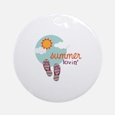 Summer lovin' Ornament (Round)