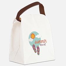 Summer lovin' Canvas Lunch Bag