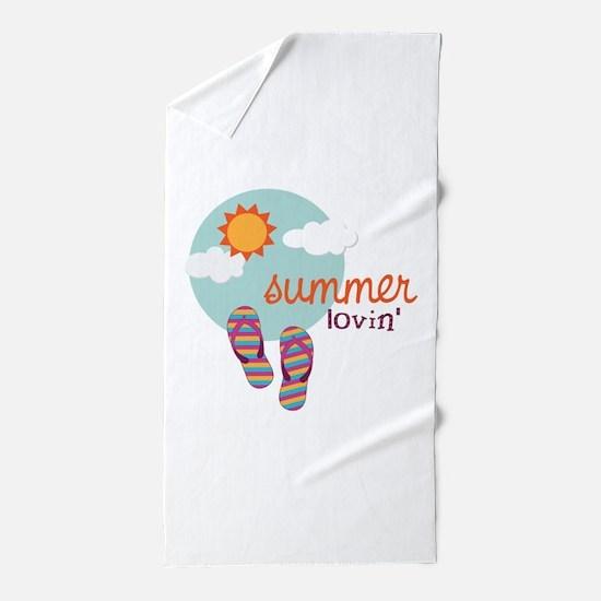 Summer lovin' Beach Towel