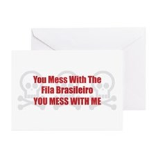 Mess With Fila Greeting Cards (Pk of 10)