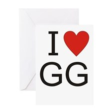 Funny Gg Greeting Card
