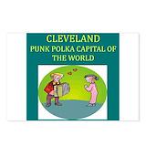 Cleveland polka Postcards