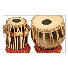 Beautiful Tabla Set Indian Per Stickers
