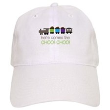 Here Comes The Choo! Choo! Baseball Baseball Cap