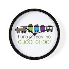 Here Comes The Choo! Choo! Wall Clock