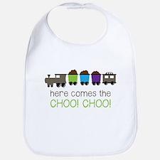 Here Comes The Choo! Choo! Bib
