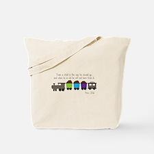 Train A Child Tote Bag