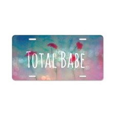 BABE Aluminum License Plate