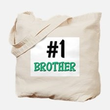 Number 1 BROTHER Tote Bag