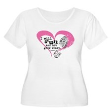 Run and Not Grow Weary Plus Size T-Shirt