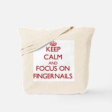 Unique Fingernails Tote Bag