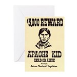 The Apache Kid Greeting Cards (Pk of 10)