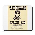 The Apache Kid Mousepad
