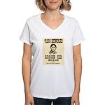 The Apache Kid Women's V-Neck T-Shirt