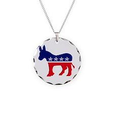 Cute Democrat donkey Necklace