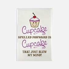 Funny Cupcake Rectangle Magnet