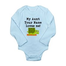 My Aunt Loves Me Turtle (Custom) Body Suit