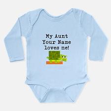 My Aunt Loves Me Turtle (Custom) Body Suit