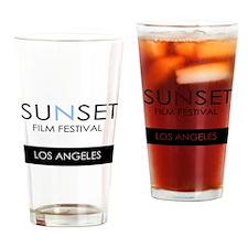 Sunset Film Festival Los Angeles Drinking Glass