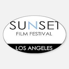 Sunset Film Festival Los Angeles Decal